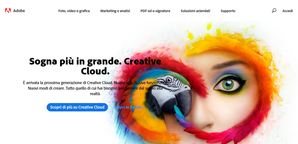 adobe creative cloud grafico freelance