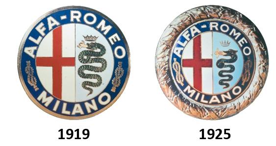 logo alfa romeo 1919 1925