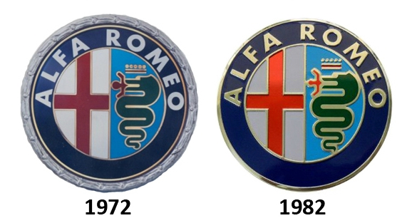 logo alfa romeo 1972-1982