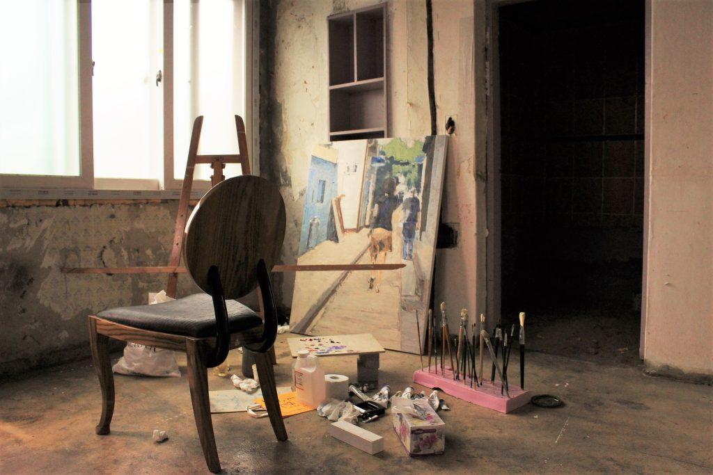 studio di pittura