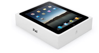 Apple ipad packaging