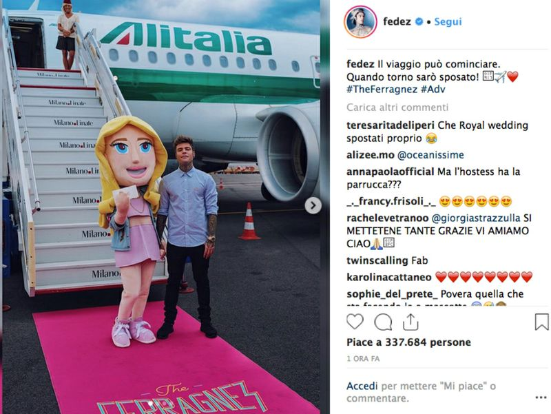 diventare fashion blogger theferragnez alitalia