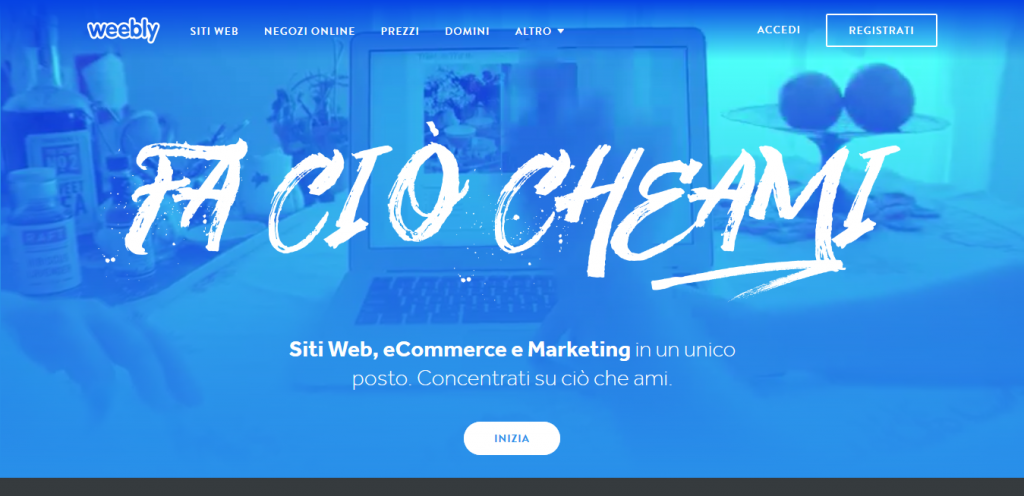 weebly sito aziendale