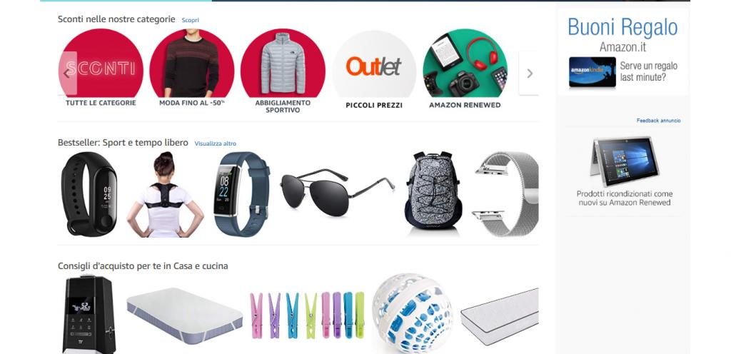 come funziona un A/B test Amazon consigli d'acquisto