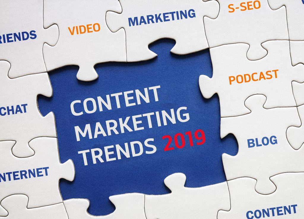 content marketing tendenze 2019