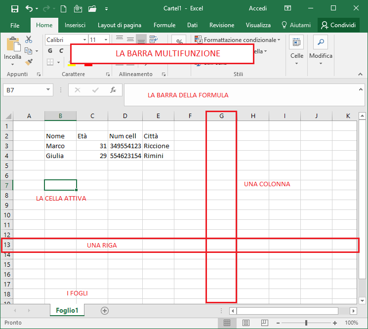 comparare due file excel