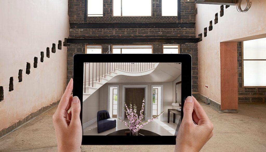interior design realtà aumentata