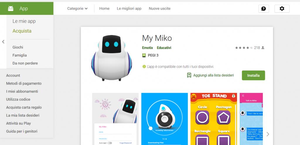 app per tradurre Miko