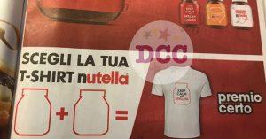 idee per magliette personalizzate Nutella