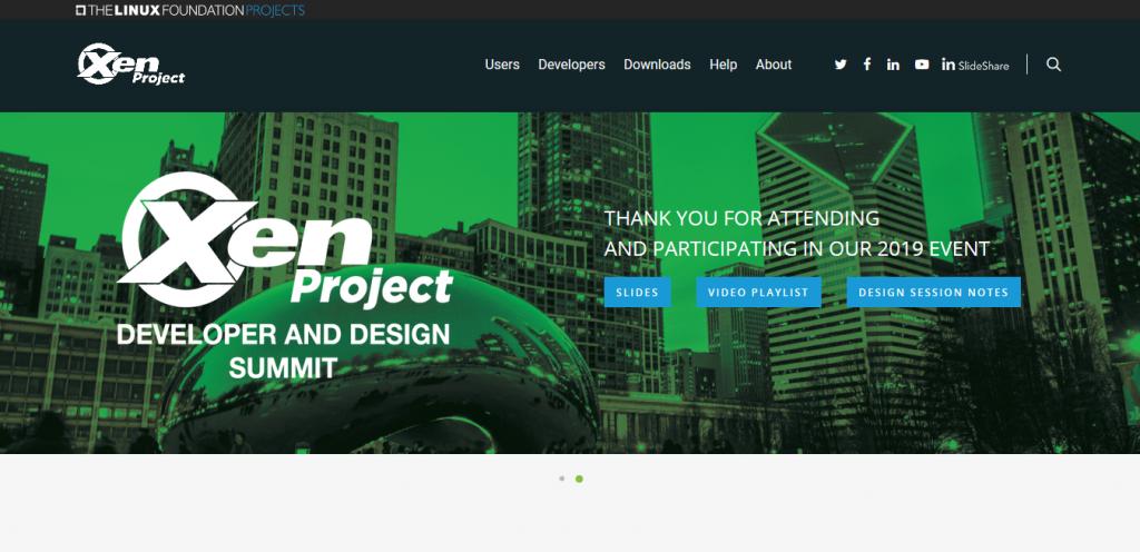 macchina virtuale Xen Project