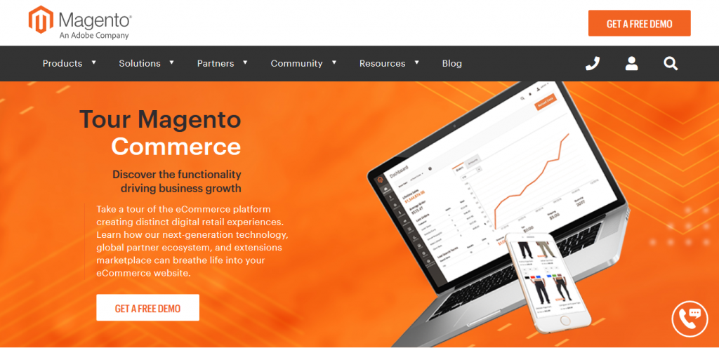 Piattaforme ecommerce Magento