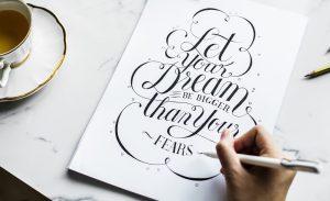 guadagnare scrivendo calligrafia