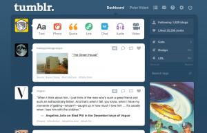 promozione aziendale via Tumblr