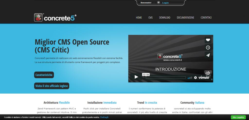 Concrete 5 CMS open source