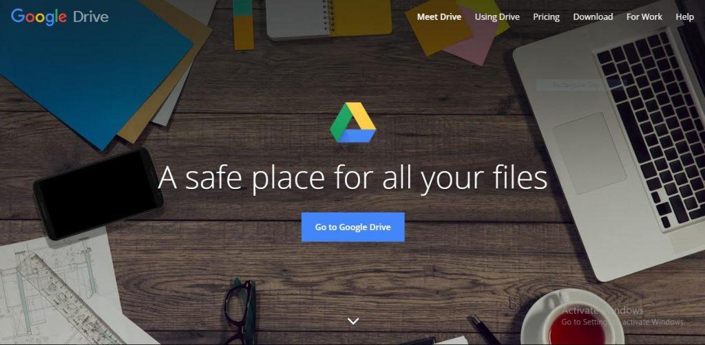 come funziona google drive 2