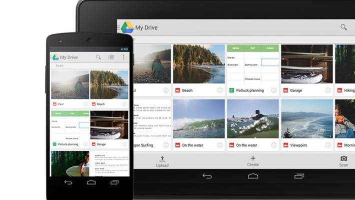 come condividere file su google drive