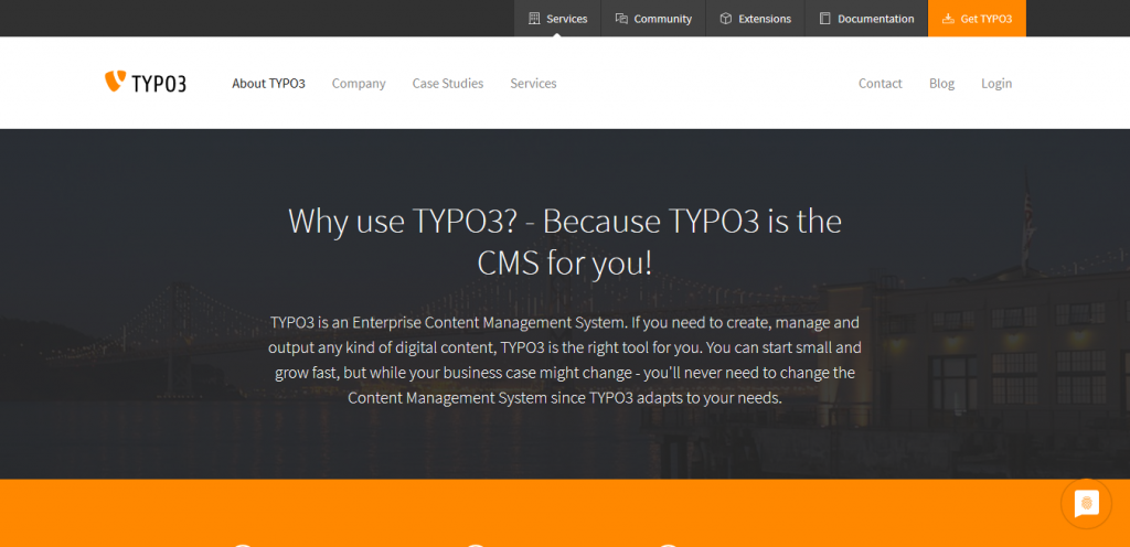 Typo3 CMS open source