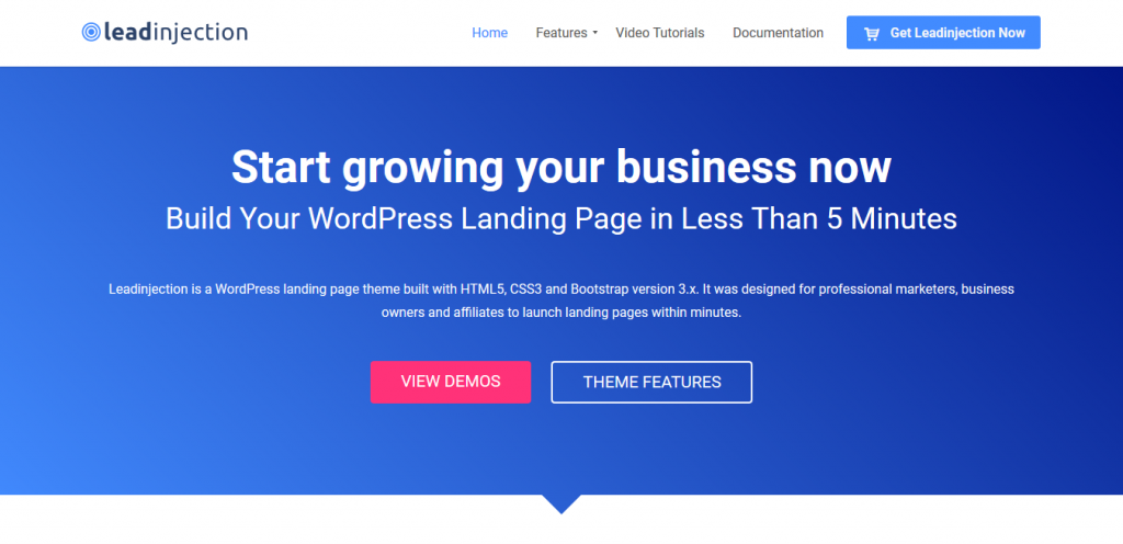 Leadinjection Landing Page builder