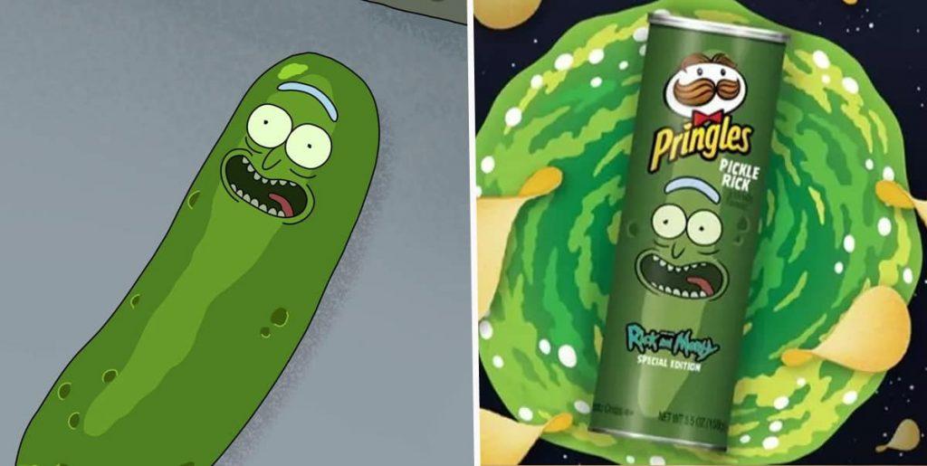 fumetto on online Pickle Rick Pringle