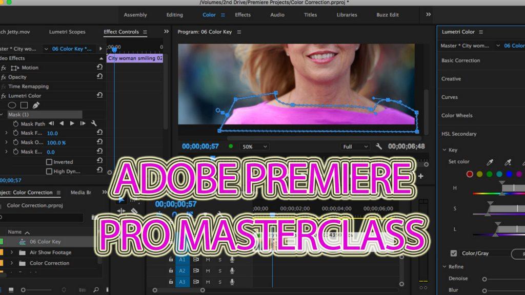 software montaggio video Adobe Premiere