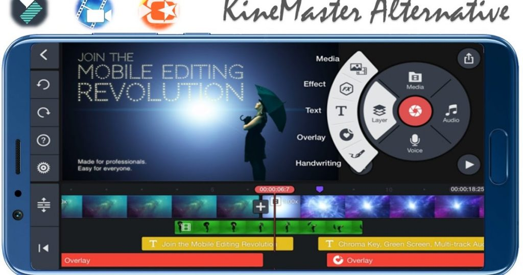 KineMaster app montaggio video