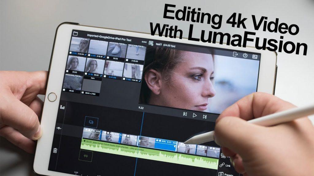app montaggio video LumaFusion
