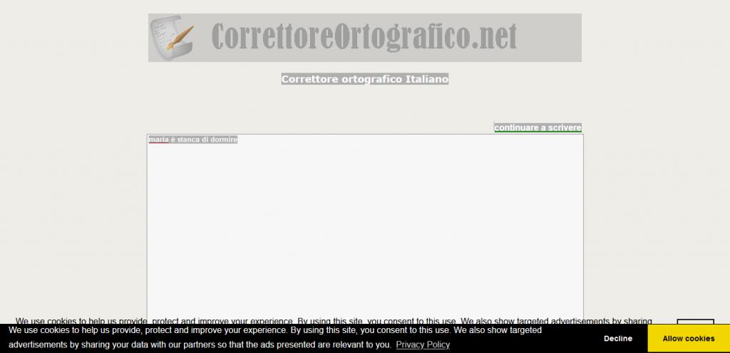 correttoreortografico.net