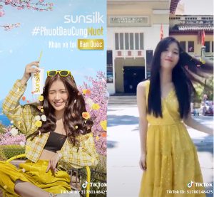 tiktok business sunsilk