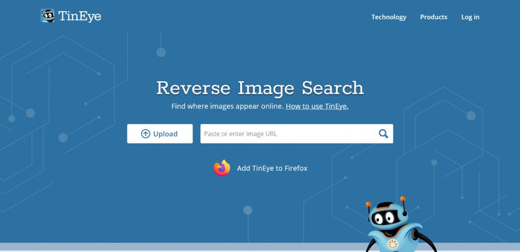motore di ricerca immagini ThinEye