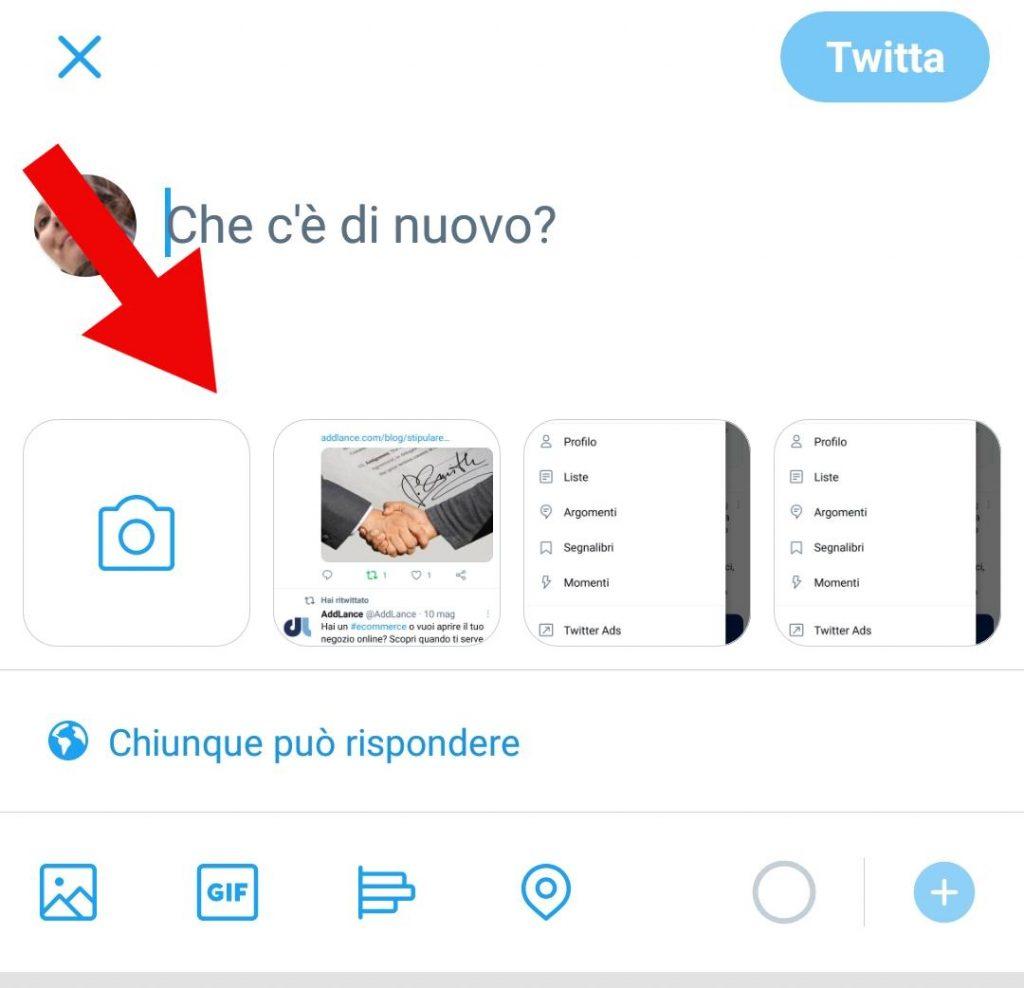 simboli twitter per migliorare il contenuto