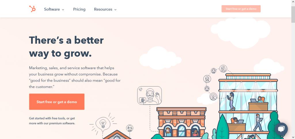 Hubspot software media plan